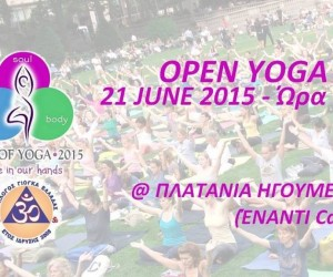open yoga day