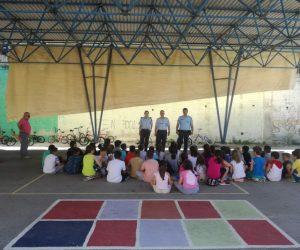 Θεσπρωτία: Ενημερωτική δράση για την οδική ασφάλεια σε μαθητές δημοτικού σχολείου στο Καστρί