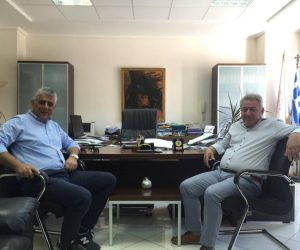Ήγουμενίτσα: Συνάντηση του Δημάρχου Ηγουμενίτσας Γιάννη Λώλου με τον Α' Αντιπρόεδρο της ΚΕΔΕ για θέματα της Τοπικής Αυτοδιοίκησης
