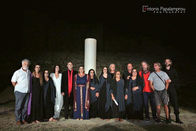 """Θεσπρωτία: Η θεατρική παράσταση """"Κλυταιμνήστρα"""" στον αρχαιολογικό χώρο του Πύργου Ραγίου την Δευτέρα"""