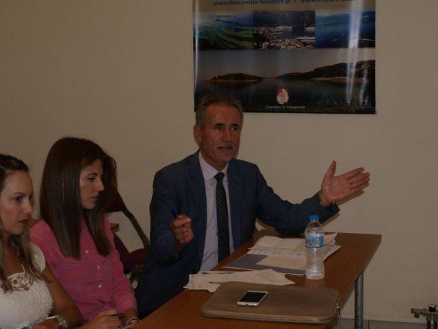 Ήγουμενίτσα: Με… απρόοπτα η ημερίδα για τα κόκκινα δάνεια στην Ηγουμενίτσα-Αποχώρησε ο πρόεδρος του Δικηγορικού Συλλόγου Κώστας Σιντόρης