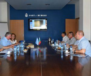Θεσπρωτία: Τριμερής συνάντηση στα πλαίσια ανάπτυξης συνεργασιών Λιμένων Ηγουμενίτσας – Αλεξανδρούπολης – Burgas