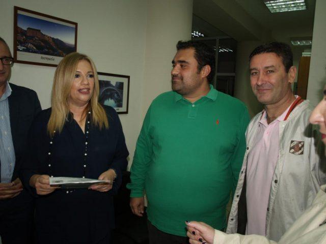Θεσπρωτία: Συνάντηση του Προεδρείου της Ενωσης Αστυνομικών Υπαλλήλων Ν.Θεσπρωτίας με την πρόεδρο του ΠΑΣΟΚ Φώφη Γεννηματά στην Παραμυθιά-Το υπόμνημα που της παρέδωσαν
