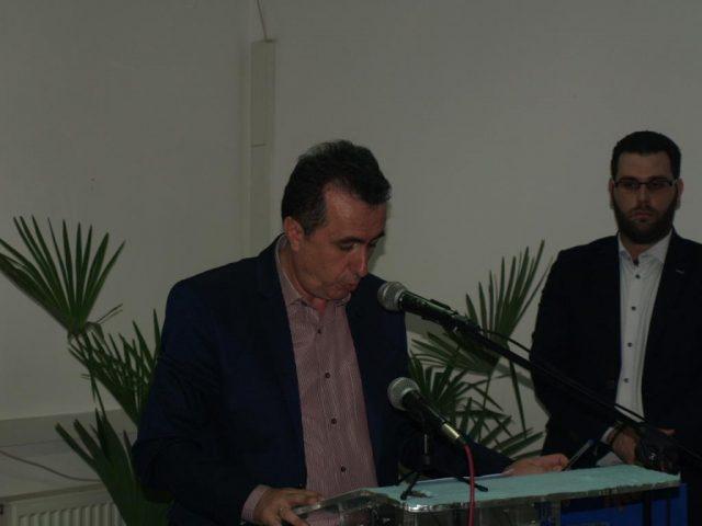Ήγουμενίτσα: Η ομιλία του αντιδήμαρχου Ηγουμενίτσας Δημήτρη Πάκου στα εγκαίνια του ΚΕΠ Υγείας Ηγουμενίτσας