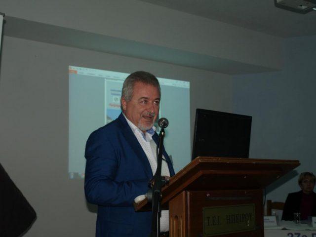 Θεσπρωτία: O χαιρετισμός του Δημάρχου Ηγουμενίτσας Γιάννη Λώλου στο 27ο Συνέδριο του Πανελλήνιου Δικτύου Οικολογικών Οργανώσεων