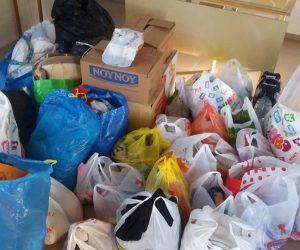 Θεσπρωτία: Η ΝΟ.Δ.Ε Θεσπρωτίας συγκεντρώνει ρούχα και τρόφιμα για άπορους συμπολίτες μας