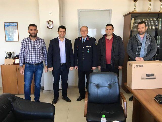 Θεσπρωτία: Στην Αστυνομική Διεύθυνση Θεσπρωτίας ο Μάριος Κάτσης (+ΦΩΤΟ)