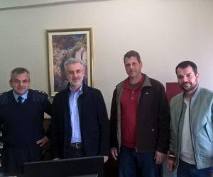 Θεσπρωτία: Σύνδεσμος Υδραυλικών Θεσπρωτίας: Επίσκεψη στην Αστυνομική Διεύθυνση Θεσπρωτίας και κοπή πίτας (+ΦΩΤΟ)