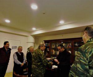 Θεσπρωτία: Ο Διοικητής της 8ης Μηχανοποιημένης Ταξιαρχίας Ηπείρου στο Δημαρχείο Φιλιατών