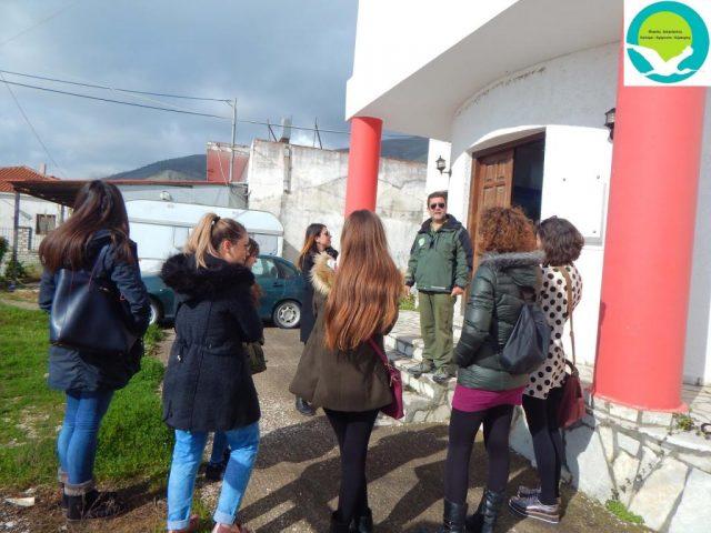 Ήγουμενίτσα: Επίσκεψη του ΙΕΚ Ηγουμενίτσας στο κέντρο πληροφόρησης Καλαμά