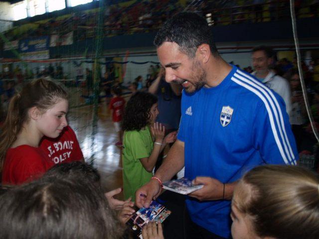 Ήγουμενίτσα: Ετήσιο τουρνουά Βόλευ «CYCLON mini volley» με τον Βασίλη Κουρνέτα στην Ηγουμενίτσα (+ ΦΩΤΟ)