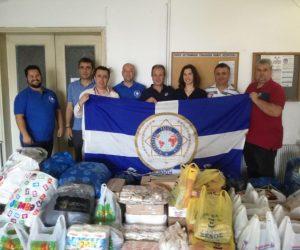 Ήγουμενίτσα: Δωρεά από τη Διεθνή Ένωση Αστυνομικών στο κοινωνικό παντοπωλείο του Δήμου Ηγουμενίτσας