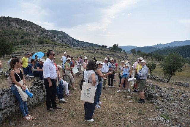 Ήγουμενίτσα: Επίσκεψη του Σωματείου «Διάζωμα» στον Αρχαιολογικό χώρο των Γιτάνων