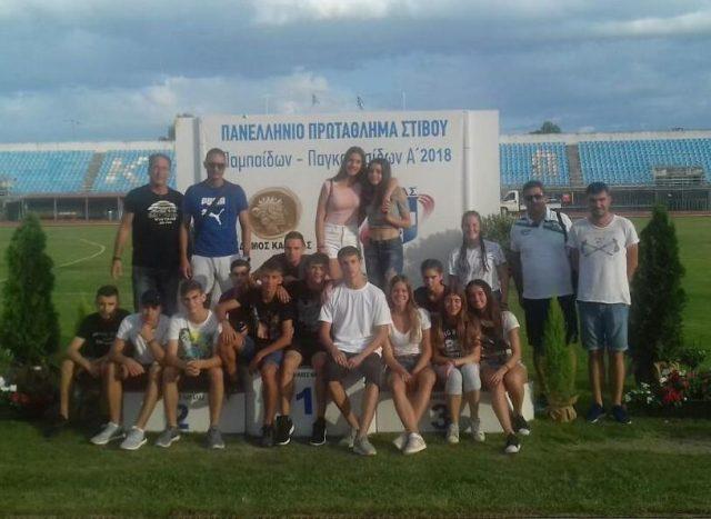 Θεσπρωτία: Εξαιρετική παρουσία των αθλητών και αθλητριών του Πρωτέα Ηγουμενίτσας στο Πανελλήνιο Πρωτάθλημα Παμπαίδων Παγκορασίδων