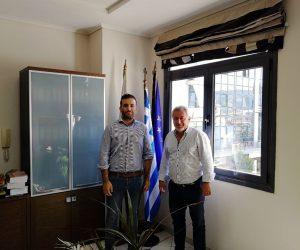 """Ήγουμενίτσα: Συνάντηση του Δημάρχου Ηγουμενίτσας με τον Υπεύθυνο Επικοινωνίας του Ευρωπαϊκού Ομίλου «Marco Polo System"""""""