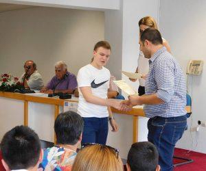 Θεσπρωτία: Τελετή απονομής των χρηματικών επάθλων σε μαθητές ακριτικών σχολείων του Ν.Θεσπρωτίας