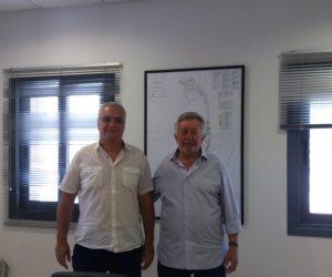Ήγουμενίτσα: Συνάντηση του Προέδρου του Ο.Λ.ΗΓ. με τον Πρόεδρο της ΕΓΝΑΤΙΑΣ ΟΔΟΥ Α.Ε. Απόστολο Αντωνούδη