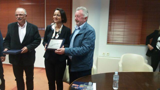 Ήγουμενίτσα: Επίσκεψη των ευρωβουλευτών του ΣΥΡΙΖΑ Δημήτρη Παπαδημούλη και Ολγα Νάσση στον ΟΛΗΓ