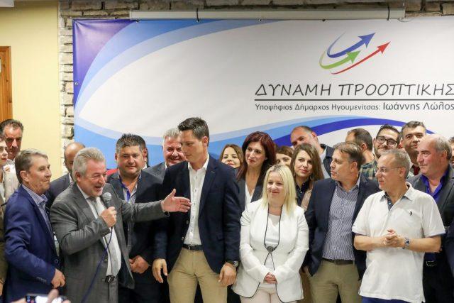 Ήγουμενίτσα: Το ψηφοδέλτιο του συνδυασμού «Δύναμη Προοπτικής» με επικεφαλής τον νυν Δήμαρχο Ηγουμενίτσας Γιάννη Λώλο
