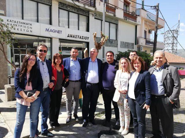 Θεσπρωτία: Περιοδεία του Αλέξανδρου Καχριμάνη στην Παραμυθιά (+εικόνες)