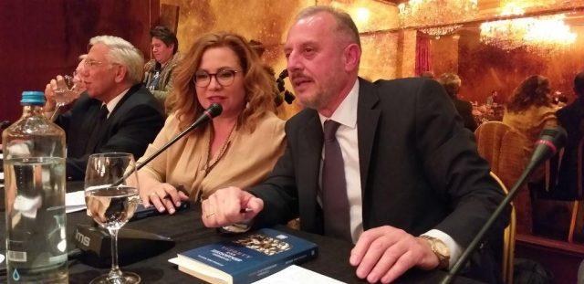 Θεσπρωτία: Ο Αντώνης Μπέζας παρουσίασε το βιβλίο του για τους Τσάμηδες στα Γιάννενα (+εικόνες)