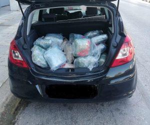 Θεσπρωτία: Κατασχέθηκαν πάνω από 102 κιλά κάνναβης και μικροποσότητα κοκαΐνης στο Ράγιο