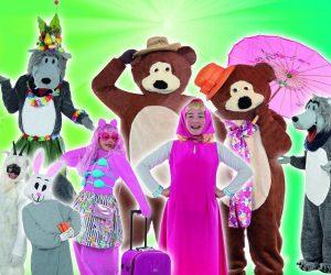 Ήγουμενίτσα: Παιδική παράσταση «Η Μάσα & ο αρκούδος» την Δευτέρα στην Ηγουμενίτσα