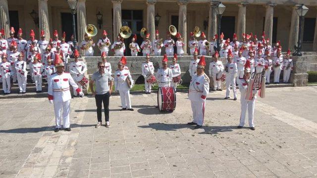 Ήγουμενίτσα: Η Φιλαρμονική Ηγουμενίτσας στην λιτανεία του Αγίου Σπυρίδωνα στην Κέρκυρα (+εικόνες)