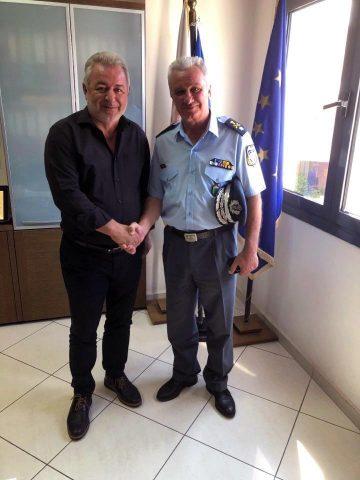 Ήγουμενίτσα: Συνάντηση του Δημάρχου Ηγουμενίτσας Γ.Λώλου με τον νέο αστυνομικό Διευθυντή Θεσπρωτίας