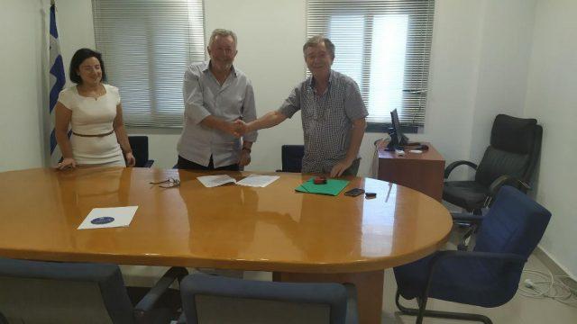 Ήγουμενίτσα: Υπεγράφη η σύμβαση για την επέκταση των έργων οδοποιίας στην παραλιακή οδό στην Ηγουμενίτσα