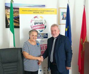 Ήγουμενίτσα: Στην Ανκόνα ο Δήμαρχος Ηγουμενίτσας Γ.Λώλος στο πλαίσιο των Αθλητικών Αγώνων Νέων ANIMUS 2019