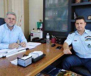 Θεσπρωτία: Συνάντηση του Δημάρχου Σουλίου με τον Αστυνομικό Διευθυντή Θεσπρωτίας
