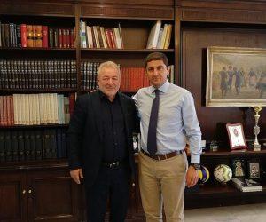Ήγουμενίτσα: Συνάντηση του Δημάρχου Ηγουμενίτσας Γ.Λώλου με τον Υφυπουργό Αθλητισμού Λευτέρη Αυγενάκη