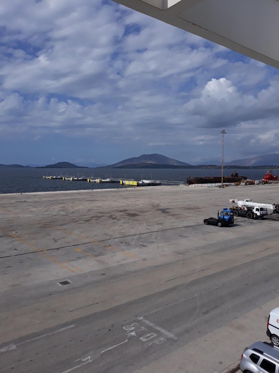 Ήγουμενίτσα: Ολοκληρώθηκαν οι εργασίες κατασκευής της δακτυλοειδούς αποβάθρας της Β' Φάσης του Νέου Λιμένα Ηγουμενίτσας