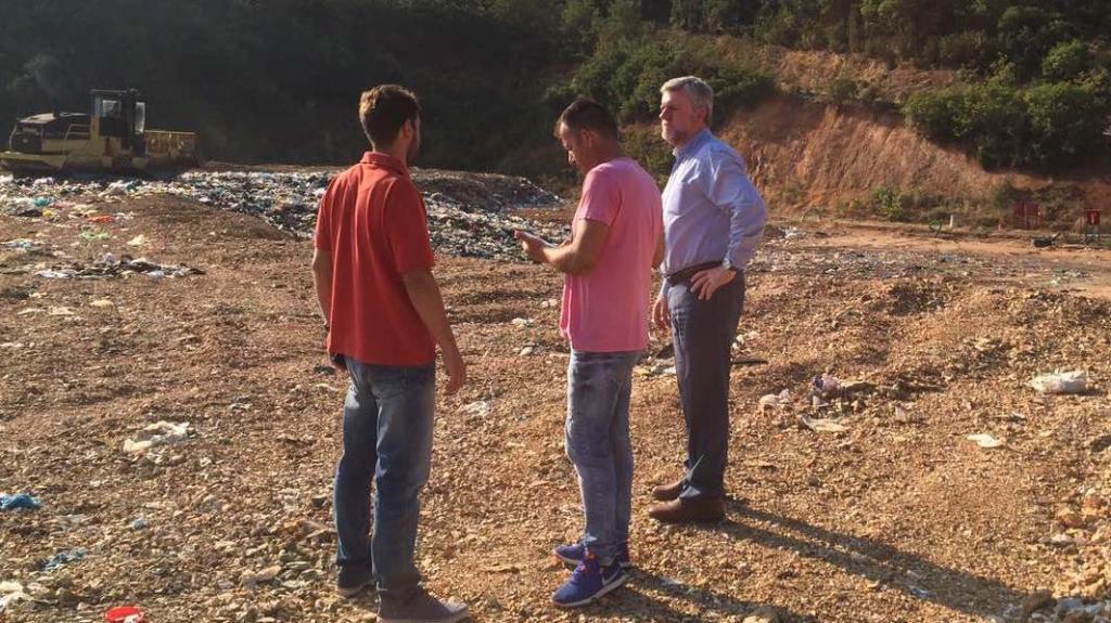 Θεσπρωτία: Παρέμβαση του Δήμαρχου Σουλίου Γ. Καραγιάννη, για την μη επιχωμάτωση των απορριμάτων στον ΧΥΤΑ Καρβουναρίου