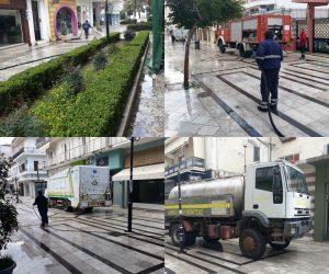 Ήγουμενίτσα: Απολύμανε όλους τους δημόσιους χώρους ο Δήμος Ηγουμενίτσας