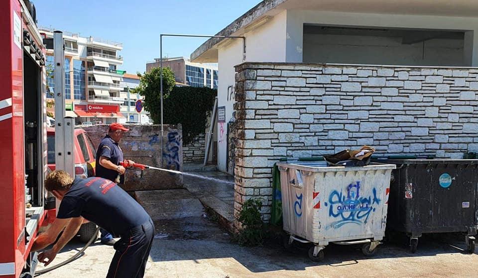 Ήγουμενίτσα: Καθαρίστηκε το κτίριο στο πάρκινγκ της χερσαίας ζώνης